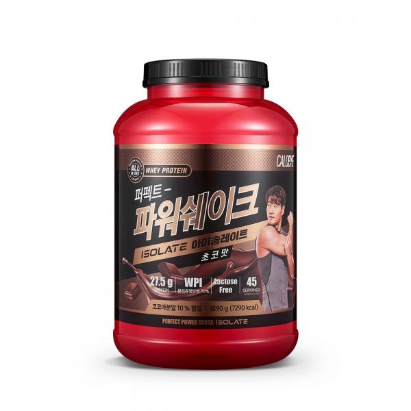 퍼펙트파워쉐이크 아이솔레이트 초코맛 1.89kg